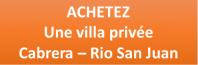 Acheter une villa en République dominicaine