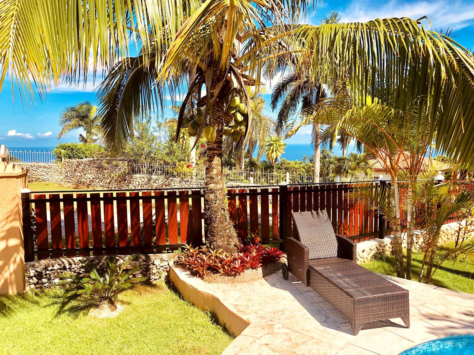 Location de maison vue sur mer cabrera republique dominicaine
