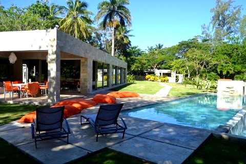 Modern villa for sale on the ocean Dominican republic