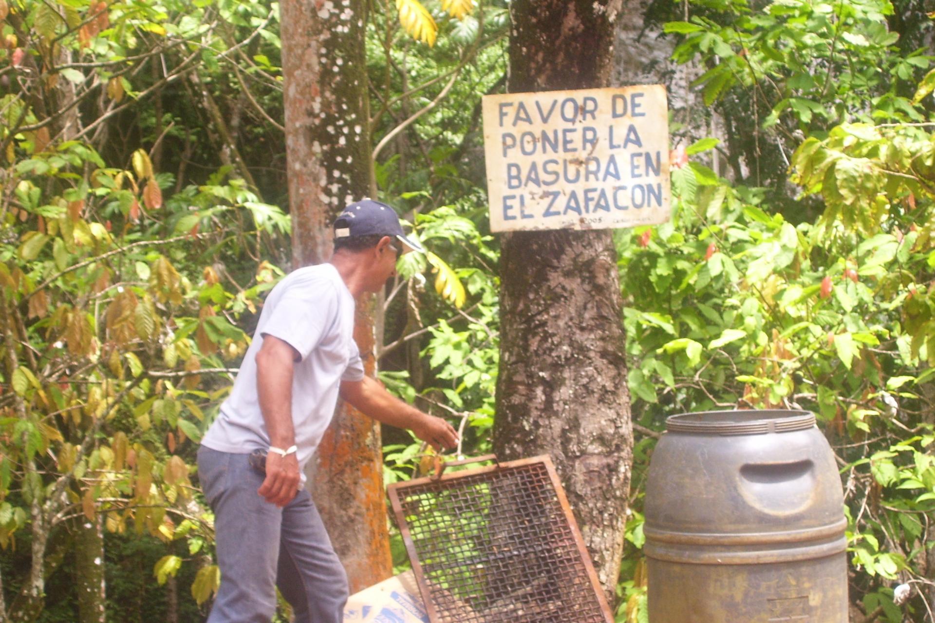 Poubelles en republique dominicaine