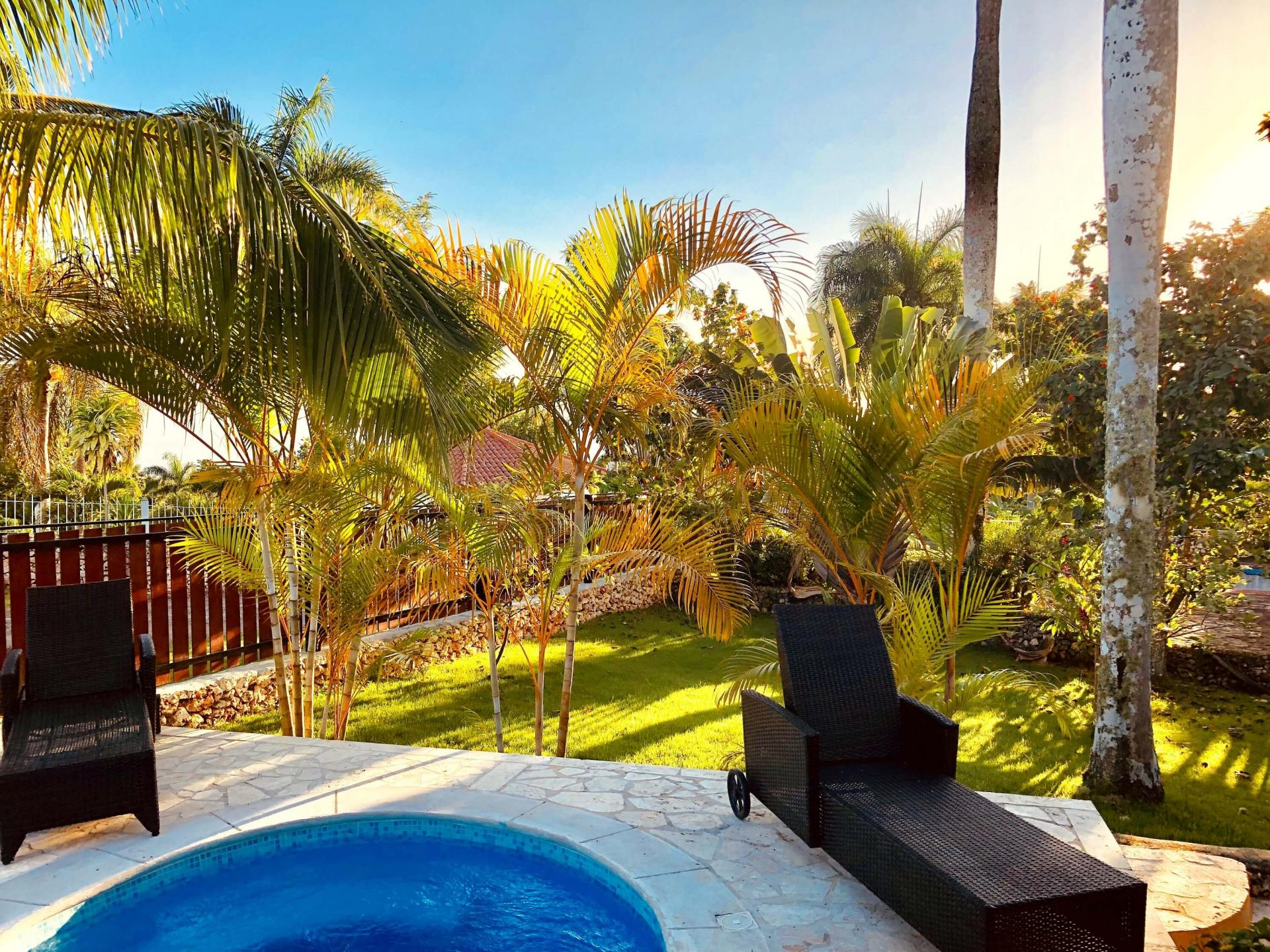 Rent a villa ocean view 2 persons dominican republic