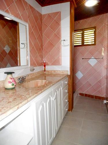 Salle de bain avec douche 1