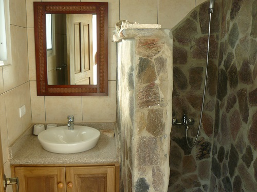 Salle de bain style caraibe