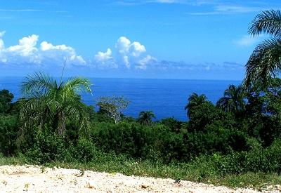 Land for sale with ocean view in dominican republic