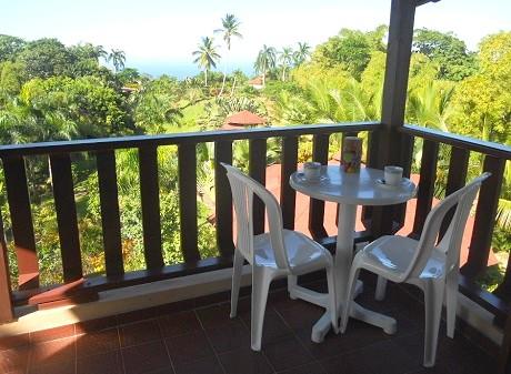 Terrasse balcon vue ocean 1