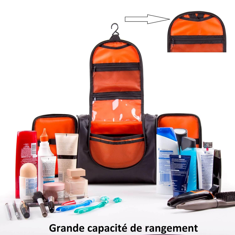 Trousse grande capacite de rangements voyage familial 1